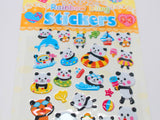 Summer Fun Cute Panda Stickers