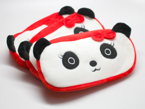 Adorable Cartoon Panda with Bow Pencil Cases/Pouch