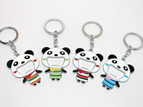 Panda Keychain and Bottle Opener