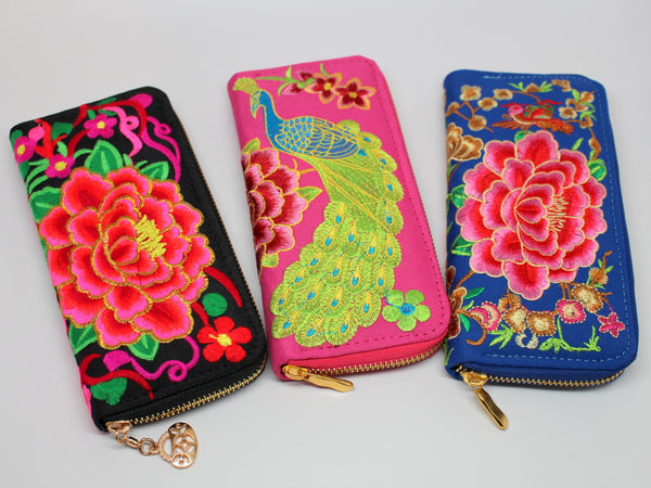 Beautiful Embroidered Wallet
