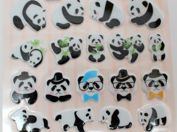 Cute Panda Stickers