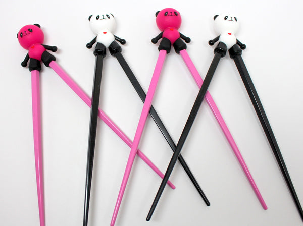 Cute Panda Chopstick Training Device