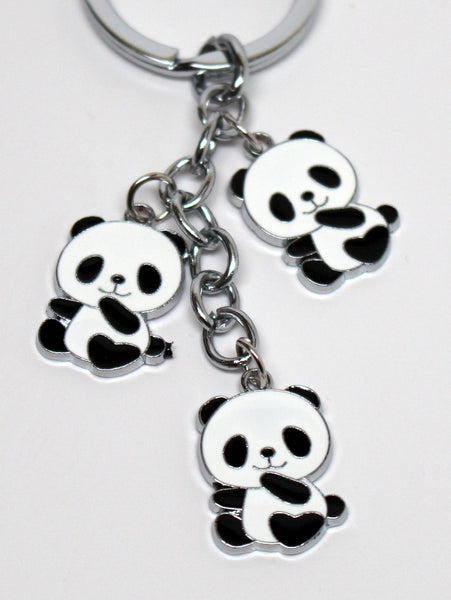 Multi-Panda Cute Keychain