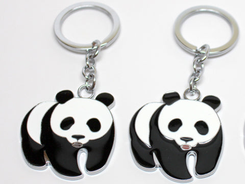 Cute Walking Panda Keychain