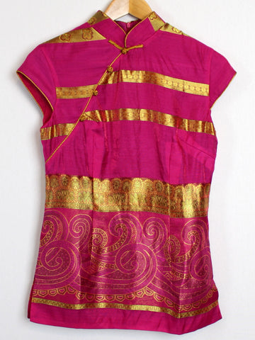 Chinese Traditional Top In Pink