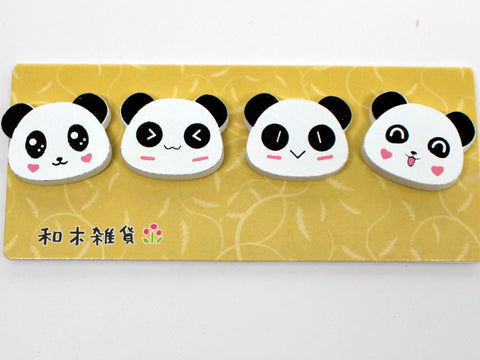 Panda Head Magnet (4 in 1 set)