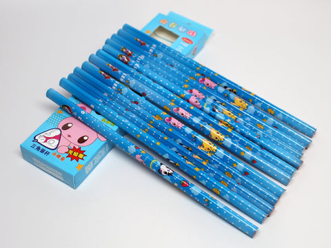 Triangle Shape Panda Pencils (Easier to Hold)
