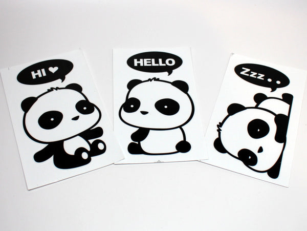 Lovely Super-sized Panda Sticker