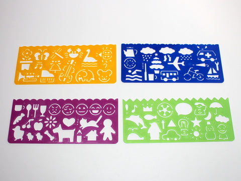Colorful Stencil Set