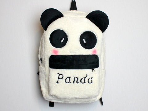 Super Cute Plush Panda Backpack