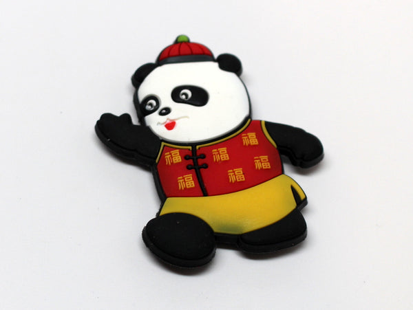Panda In Chinese Outfit Magnet