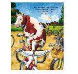 Duck on A Bike by David Shannon (Hard Cover, Simplified Chinese)