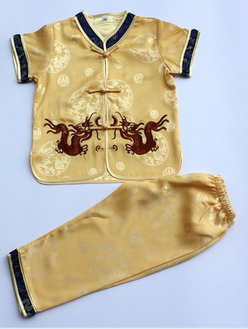 Boys Two-Piece Traditional Outfit (With Shorts)