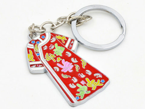 Beautiful Qipao Dress Keychain