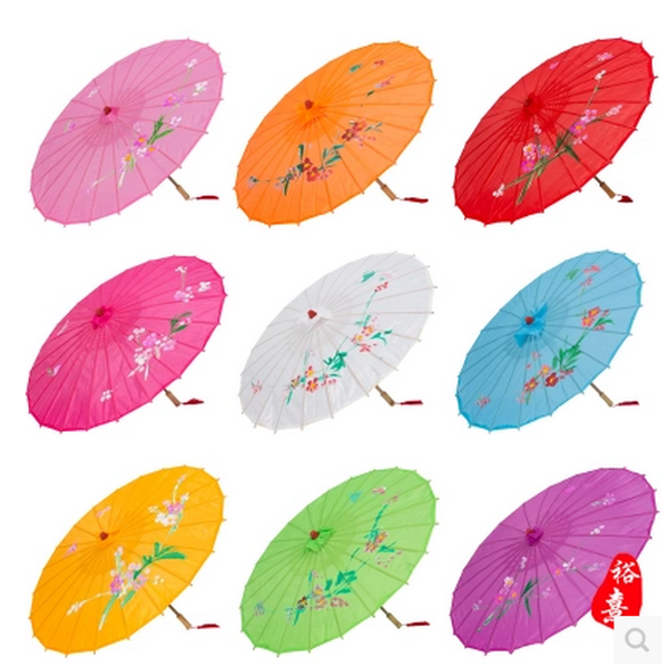 Beautiful Chinese Large Silk Parasol/ Umbrella