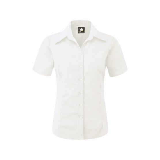 The Classic Ladies Oxford S/S Blouse