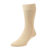 Executive Panelled Rib Cotton Sock