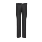 Senior flat front, slim fit trousers