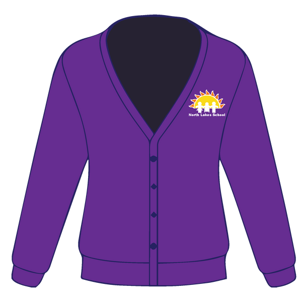 North Lakes School Cardigan