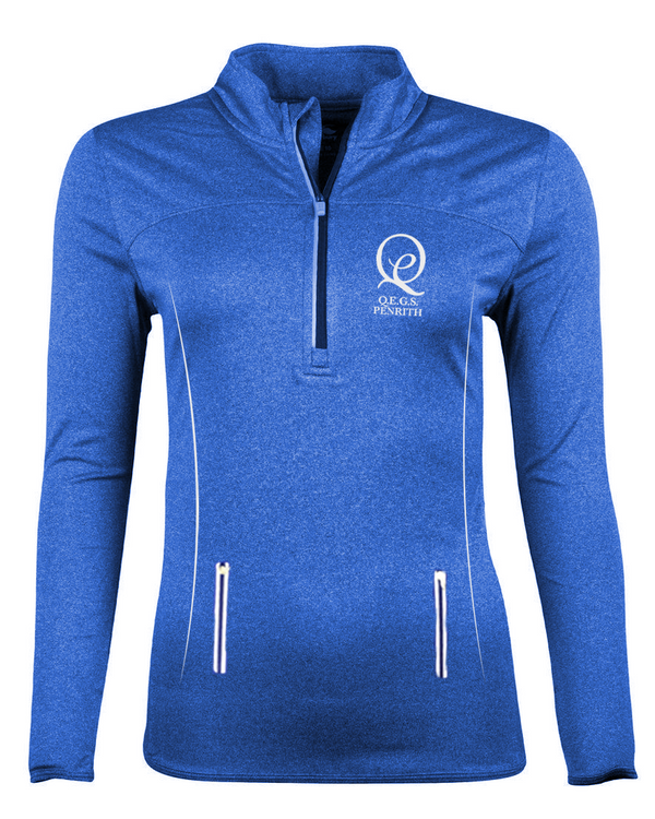 Girl's 1/4 Zip Training Top