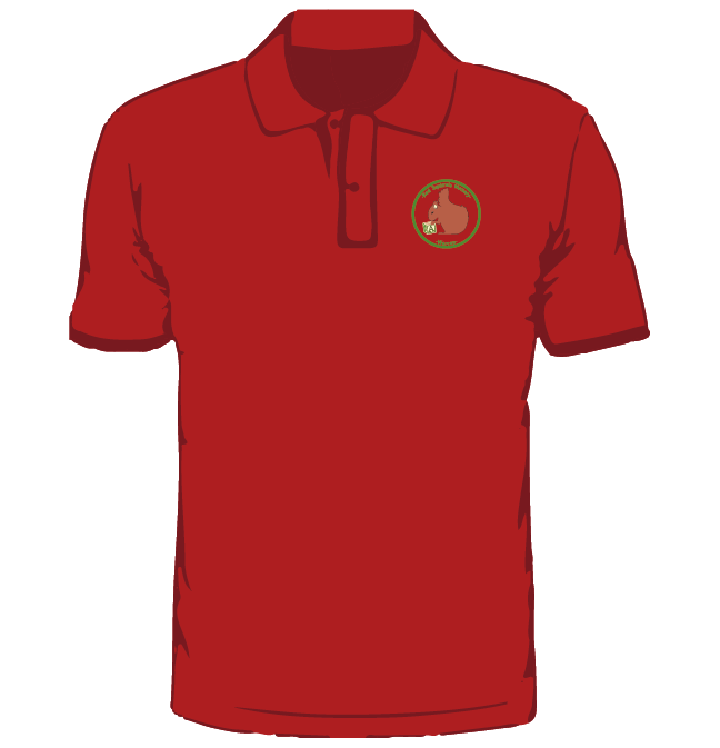 Red Squirrel Nursery Polo