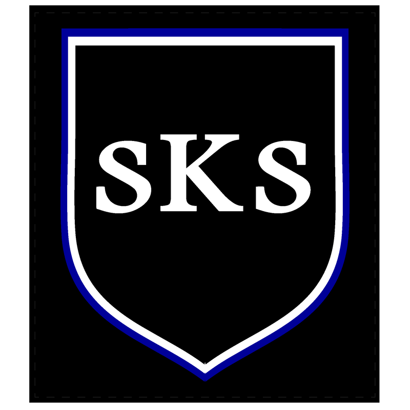 SKS Sew On Badge