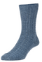 Thermal Wool Rich Chunky Cable Rib Socks