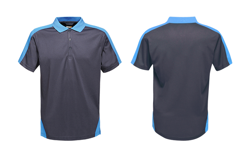 Contrast Quick Wicking Polo Shirt