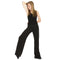 Roch Valley Black Cotton/Lycra Hipster Jazz Pants