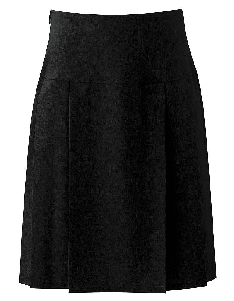 Henley Pleated Skirt