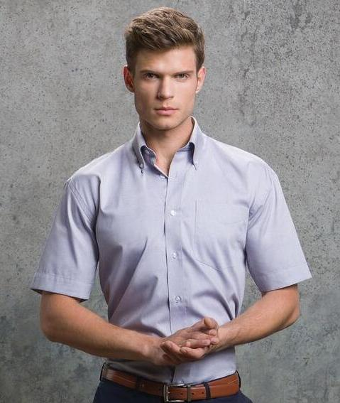 Corporate Oxford Short Sleeved Shirt
