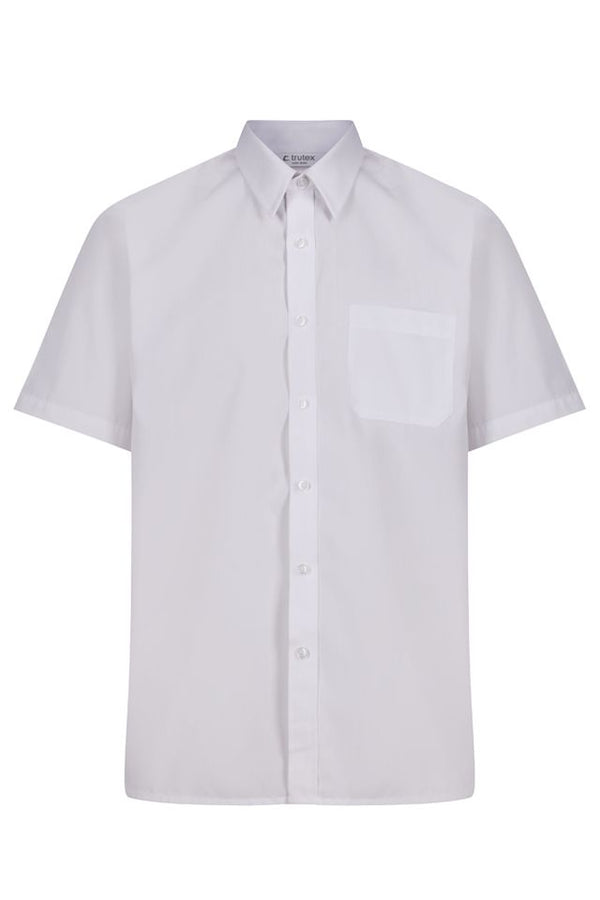 Short Sleeve, Non-Iron Shirts - Twin Pack
