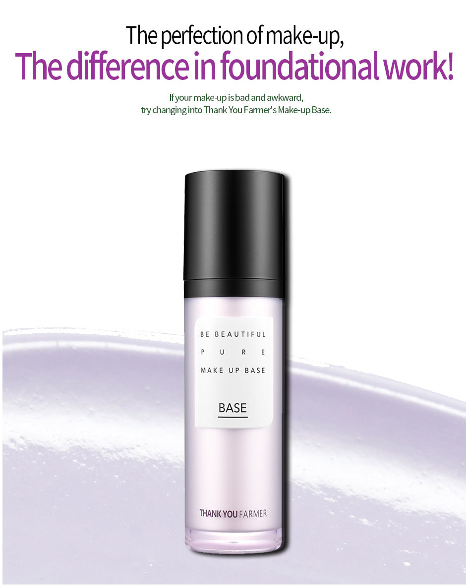 Skip to the beginning of the images gallery Be Beautiful Pure Make Up Base Purple