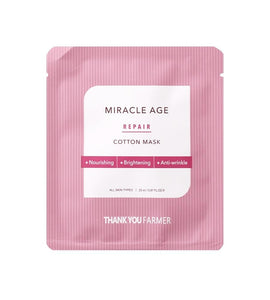 Miracle Age Repair Cotton Mask (1pc) [EXP: 07-08-2021]