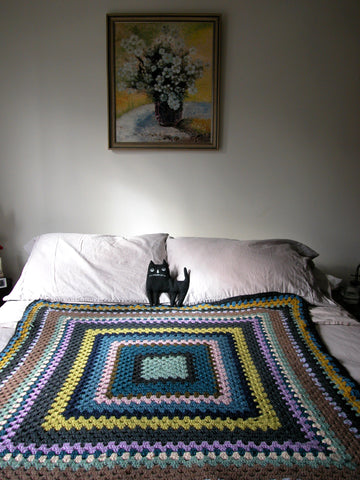 Crochet Blanket Class for Absolute Beginners