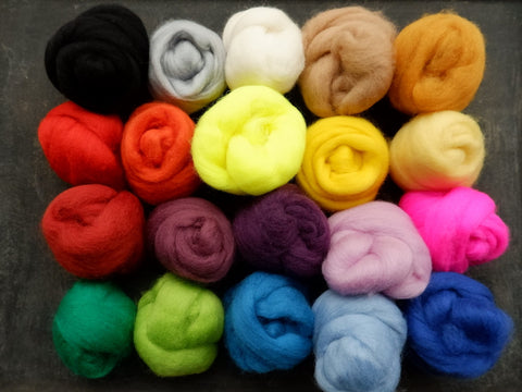 Wool Fleece (Roving)