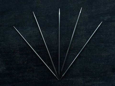 Steel Double Pointed Needles