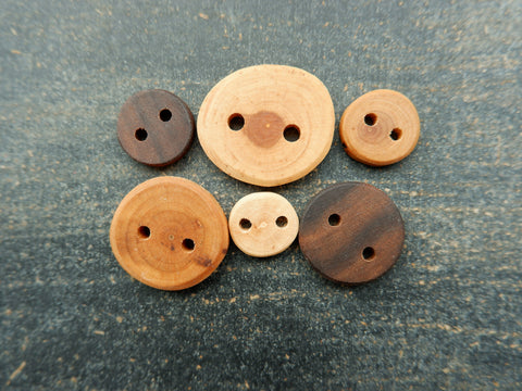 Hand Crafted Wooden Buttons