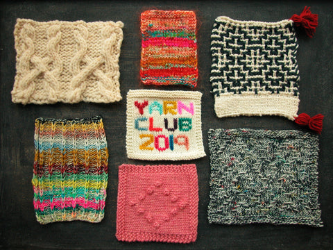 Knit Cafe Yarn Club 2019