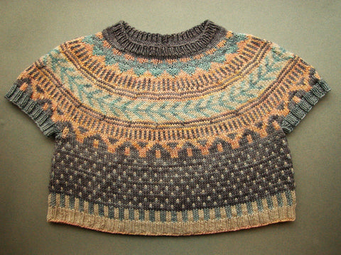 Knit the Soldotna Crop Sweater