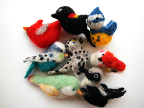 Needle Felting Crash Course for Maker Festival