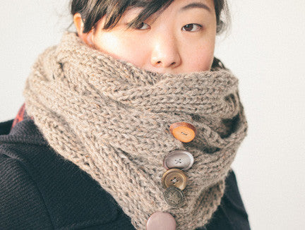 Cabled Cowl Class