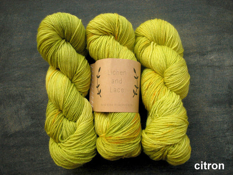 Lichen and Lace 80/20 Sock