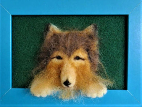 Felted Pet Portraits