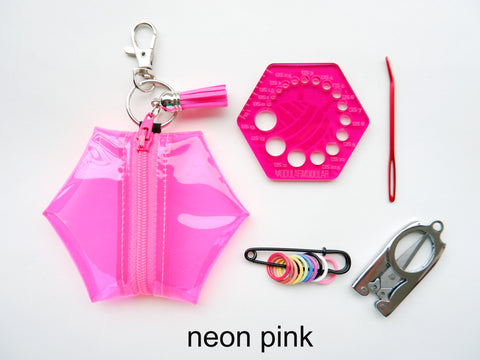 Hexagon Knitting Accessory Kits