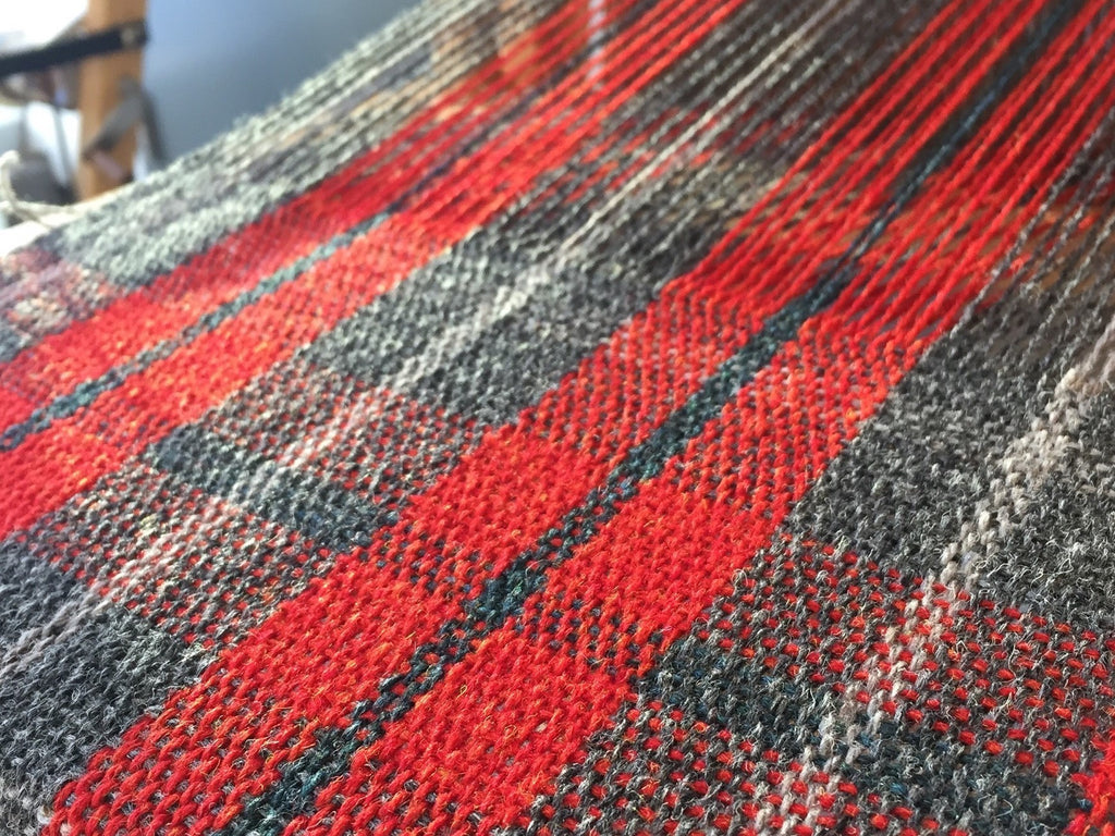 Introduction to Weaving - Plaid!