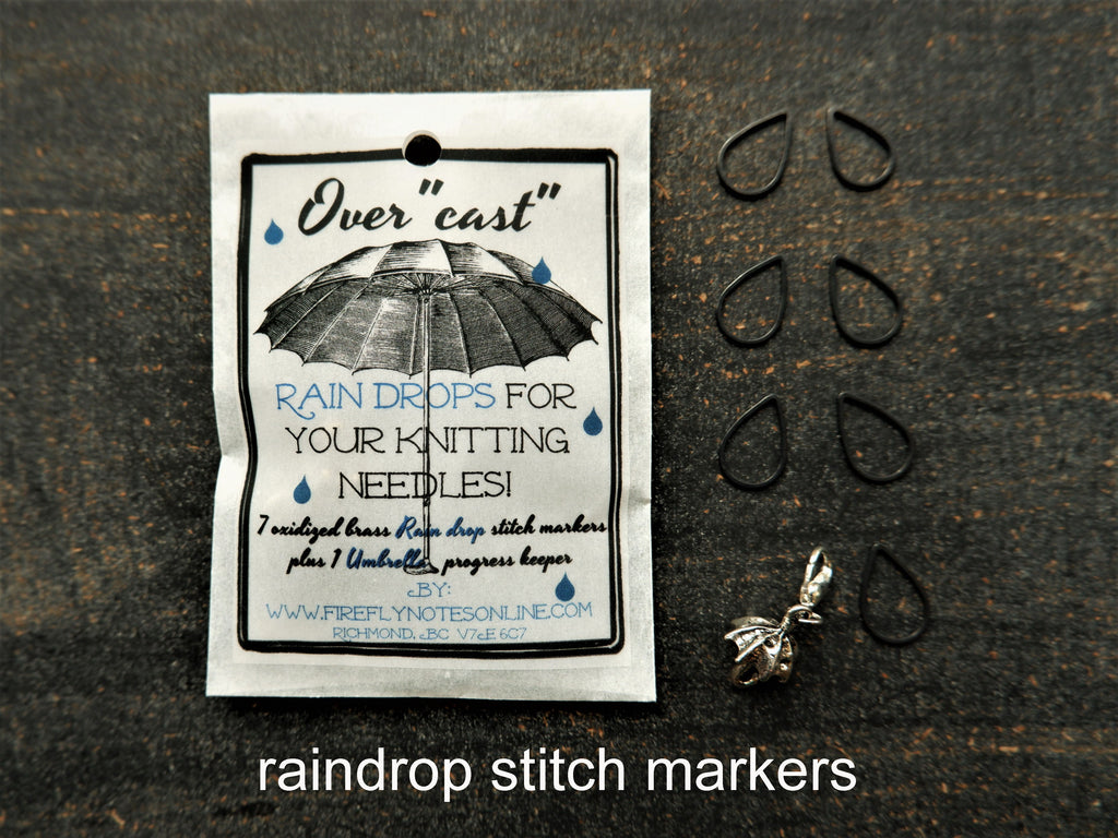 Stitch Marker Sets and Notion Boxes