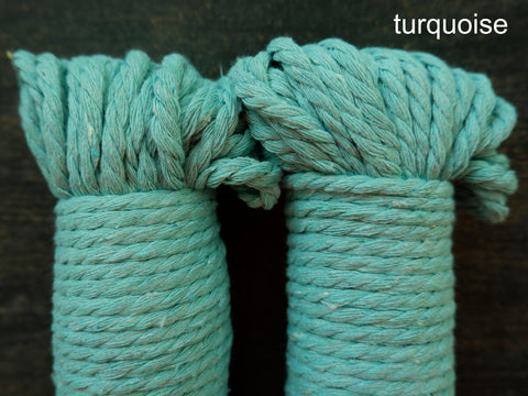 3 Strand Macrame Rope - 5mm