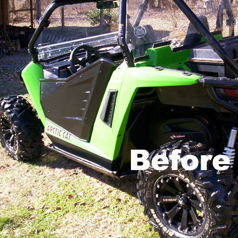 Arctic Cat Wildcat Trail Rear Fender Conversion Kit
