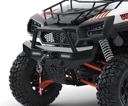 "Textron Off Road 6"" Single Row Flush Mounted LED Light Bar Set for Stampede & Havoc X"